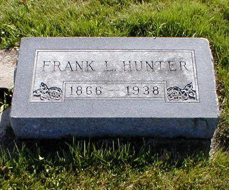 HUNTER, FRANK L. - Mahaska County, Iowa | FRANK L. HUNTER