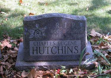 HUTCHINS, CHARLES EUGENE - Mahaska County, Iowa | CHARLES EUGENE HUTCHINS