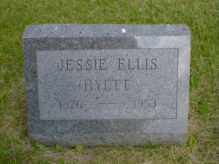 HYETT, JESSIE ELLIS - Mahaska County, Iowa | JESSIE ELLIS HYETT