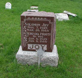JOY, SOLOMON - Mahaska County, Iowa | SOLOMON JOY