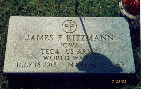 KITZMANN, JAMES F. - Mahaska County, Iowa | JAMES F. KITZMANN