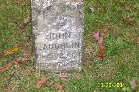 LAUGHLIN, JOHN - Mahaska County, Iowa | JOHN LAUGHLIN