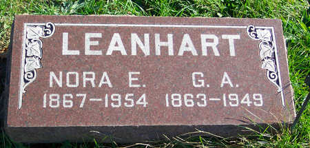 LEANHART, NORA - Mahaska County, Iowa | NORA LEANHART