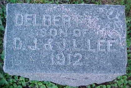 LEE, DELBERT K. - Mahaska County, Iowa | DELBERT K. LEE