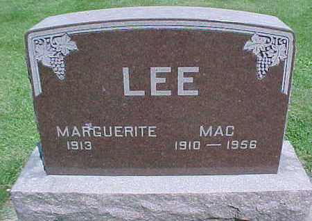 LEE, MAC - Mahaska County, Iowa | MAC LEE