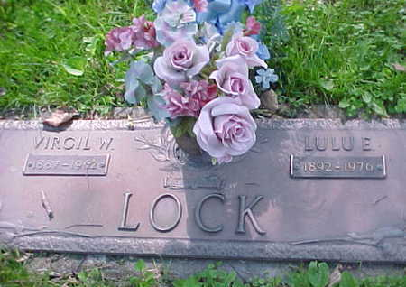 LOCK, LULU E. - Mahaska County, Iowa | LULU E. LOCK