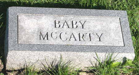 MCCARTY, BABY - Mahaska County, Iowa | BABY MCCARTY