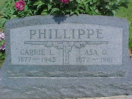 PHILLIPPE, ASA G. - Mahaska County, Iowa | ASA G. PHILLIPPE