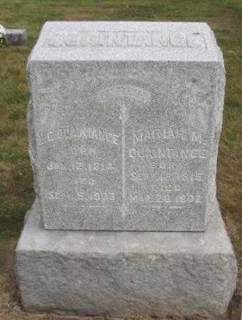 QUAINTANCE, LEWIS - Mahaska County, Iowa | LEWIS QUAINTANCE