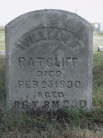 RATCLIFF, WILLIAM - Mahaska County, Iowa | WILLIAM RATCLIFF