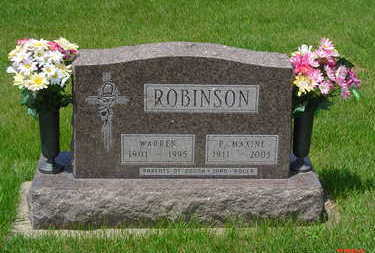 ROBINSON, WARREN - Mahaska County, Iowa | WARREN ROBINSON