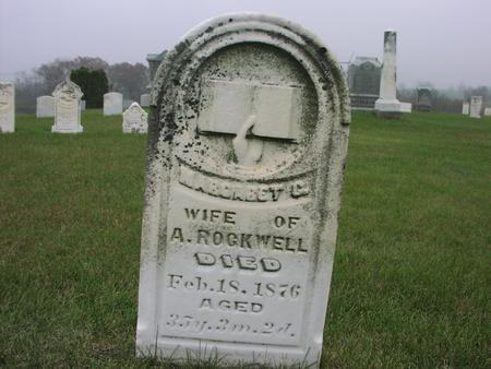ROCKWELL, MARGARET C. - Mahaska County, Iowa | MARGARET C. ROCKWELL