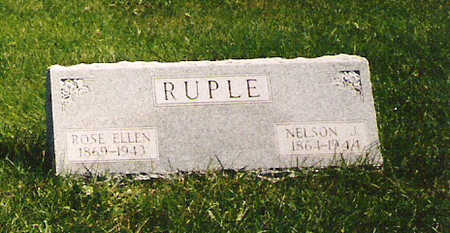 RUPLE, NELSON J - Mahaska County, Iowa | NELSON J RUPLE