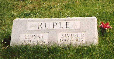RUPLE, SAMUEL R - Mahaska County, Iowa | SAMUEL R RUPLE