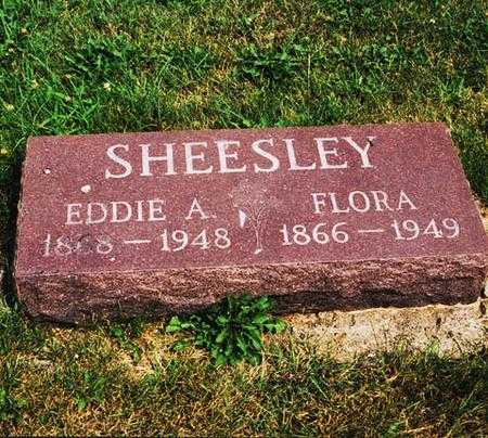 SHEESLEY, FLORA - Mahaska County, Iowa | FLORA SHEESLEY