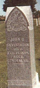 SILVERTHORN, JOHN OLIVER - Mahaska County, Iowa | JOHN OLIVER SILVERTHORN