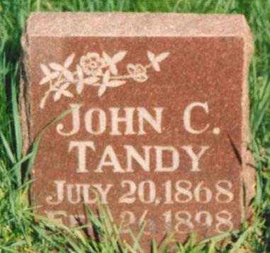 TANDY, JOHN - Mahaska County, Iowa | JOHN TANDY