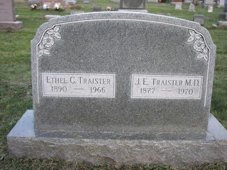 TRAISTER, ETHEL - Mahaska County, Iowa | ETHEL TRAISTER