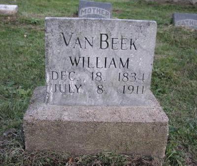 VAN BEEK, WILLIAM - Mahaska County, Iowa | WILLIAM VAN BEEK