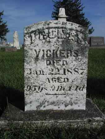 VICKERS, THOMAS - Mahaska County, Iowa | THOMAS VICKERS