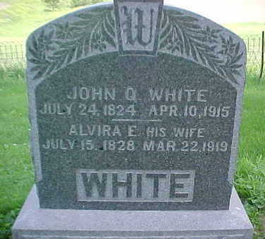 WHITE, JOHN Q. - Mahaska County, Iowa | JOHN Q. WHITE
