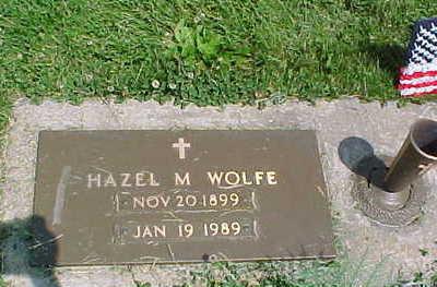 ROBBINS WOLFE, HAZEL M. - Mahaska County, Iowa | HAZEL M. ROBBINS WOLFE