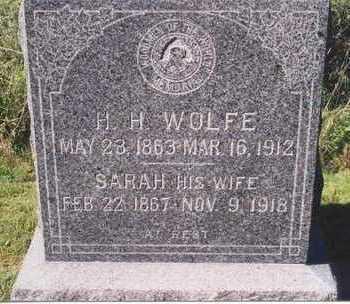 WOLFE, SARAH - Mahaska County, Iowa | SARAH WOLFE