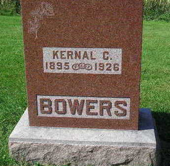 BOWERS, KERNAL C. - Marion County, Iowa | KERNAL C. BOWERS