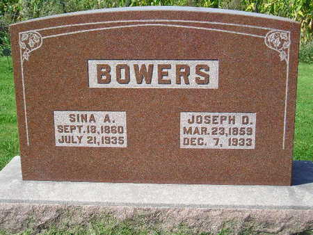BOWERS, JOSEPH O. - Marion County, Iowa | JOSEPH O. BOWERS