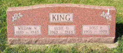 KING, ELSIE O. - Marion County, Iowa | ELSIE O. KING