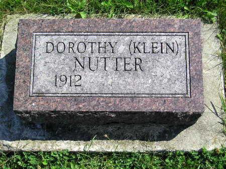 KLEIN NUTTER, DOROTHY - Marion County, Iowa | DOROTHY KLEIN NUTTER
