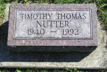 NUTTER, TIMOTHY THOMAS - Marion County, Iowa | TIMOTHY THOMAS NUTTER