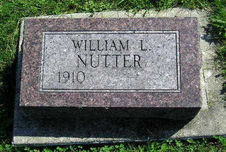 NUTTER, WILLIAM L. - Marion County, Iowa | WILLIAM L. NUTTER