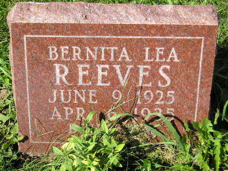 REEVES, BERNITA LEA - Marion County, Iowa | BERNITA LEA REEVES