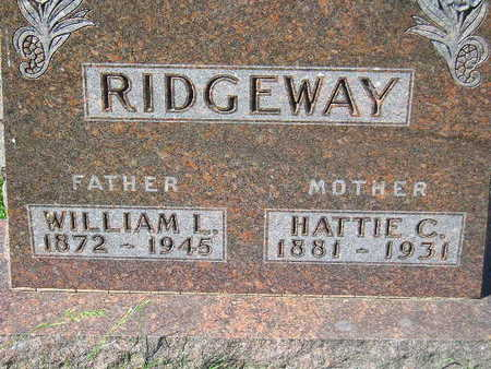 RIDGEWAY, WILLIAM L. - Marion County, Iowa | WILLIAM L. RIDGEWAY