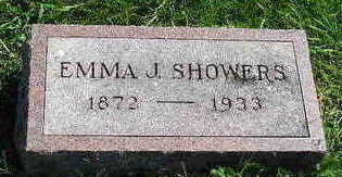 SHOWERS, EMMA J. - Marion County, Iowa | EMMA J. SHOWERS