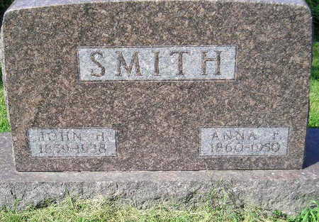 SMITH, ANNA F. - Marion County, Iowa | ANNA F. SMITH