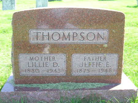 THOMPSON, JEFFIE E. - Marion County, Iowa | JEFFIE E. THOMPSON