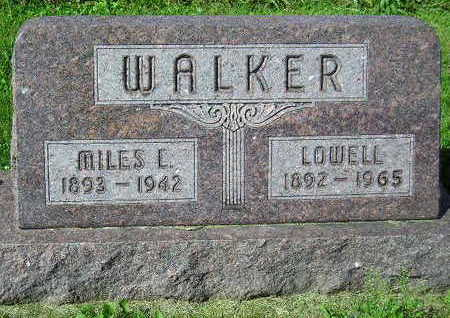 WALKER, LOWELL - Marion County, Iowa | LOWELL WALKER