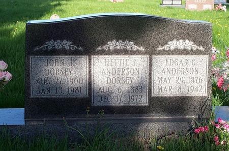 ANDERSON /DORSEY, HETTIE J. - Marion County, Iowa | HETTIE J. ANDERSON /DORSEY