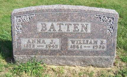 BATTEN, WILLIAM ELLSWORTH - Marion County, Iowa | WILLIAM ELLSWORTH BATTEN