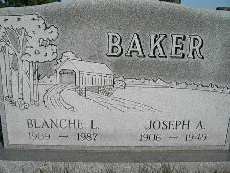 BAKER, BLANCHE L - Marion County, Iowa | BLANCHE L BAKER