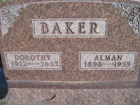 BAKER, ALMAN - Marion County, Iowa | ALMAN BAKER