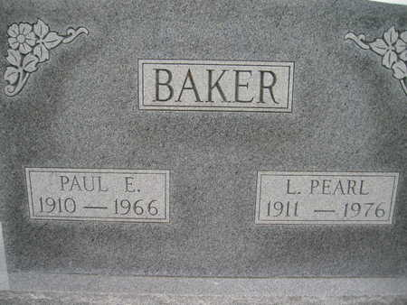 BAKER, PAUL E - Marion County, Iowa | PAUL E BAKER