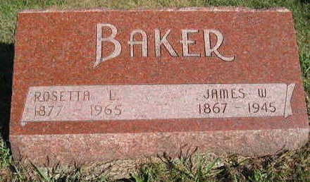 BAKER, JAMES W - Marion County, Iowa | JAMES W BAKER