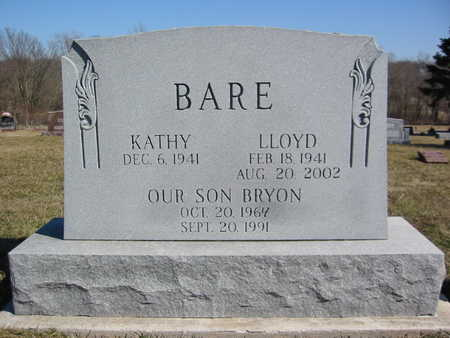 BARE, LLOYD GEORGE - Marion County, Iowa | LLOYD GEORGE BARE