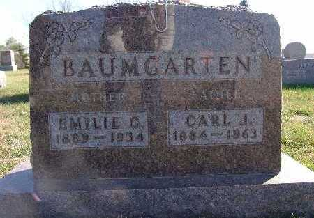 BAUMGARTEN, CARL J. - Marion County, Iowa | CARL J. BAUMGARTEN