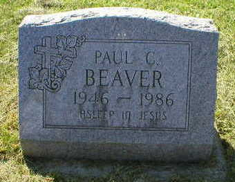 BEAVER, PAUL - Marion County, Iowa | PAUL BEAVER