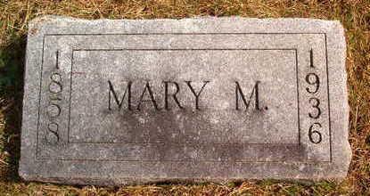 BEEM, MARY M. - Marion County, Iowa   MARY M. BEEM