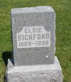 BICKFORD, ELSIE - Marion County, Iowa | ELSIE BICKFORD